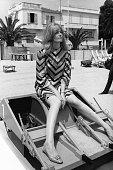 Vanessa Redgrave au Festival de Cannes France circa 1960