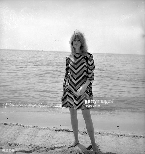 Vanessa Redgrave British actress Cannes Film Festival 1967 HA138010