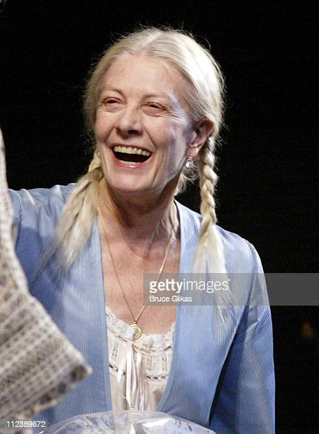 Vanessa Redgrave during 'Long Day's Journey Into Night' Opening Night and After Party at The Plymouth Theater and Tavern on the Green in New York...