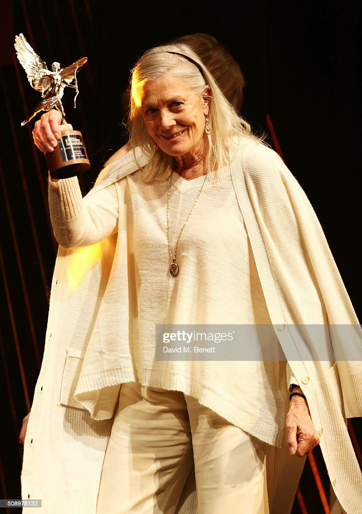 <a gi-track='captionPersonalityLinkClicked' href=/galleries/search?phrase=Vanessa+Redgrave&family=editorial&specificpeople=169891 ng-click='$event.stopPropagation()'>Vanessa Redgrave</a> presents the Best Actor award at the London Evening Standard British Film Awards at Television Centre on February 7, 2016 in London, England.