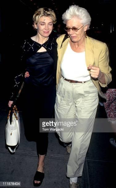 Vanessa Redgrave with her daughter Natasha Richardson