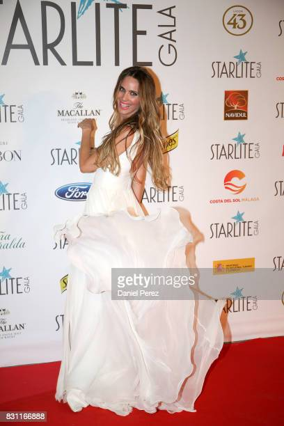 Vanessa Romero attends Starlite Gala on August 13 2017 in Marbella Spain