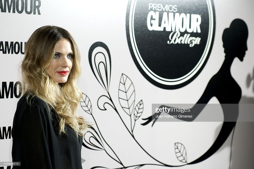Vanessa Romero attends X Glamour Beauty Awards at Pacha Club on March 14, 2012 in Madrid, Spain.