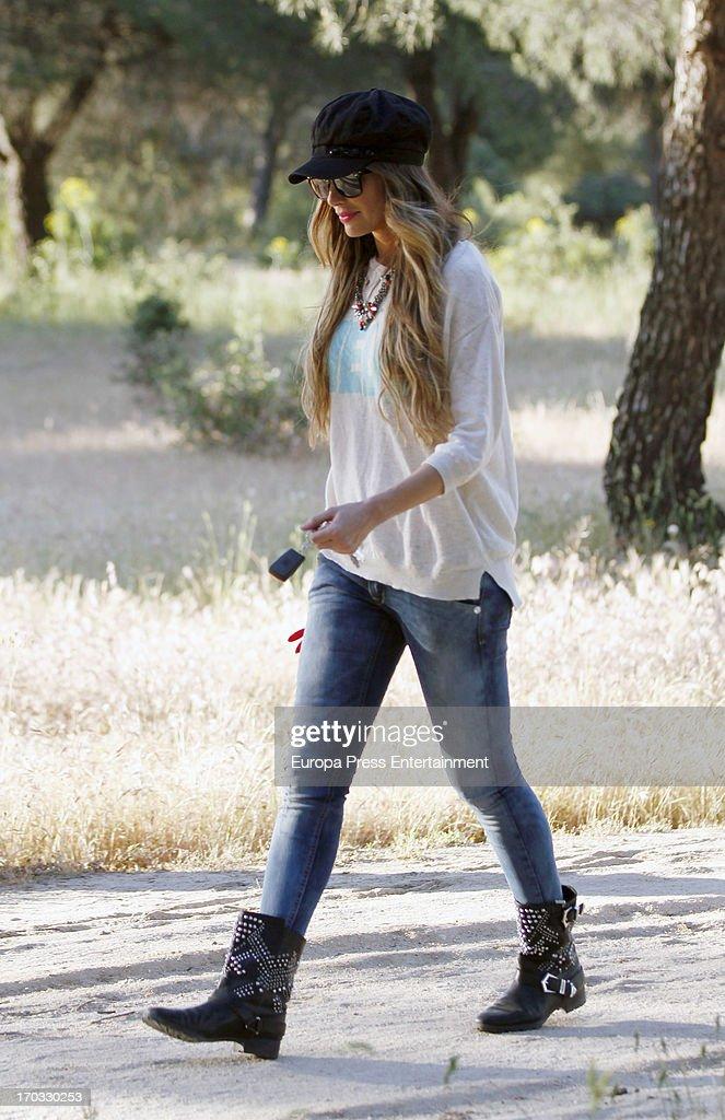 Vanessa Romero is seen on June 10, 2013 in Madrid, Spain.