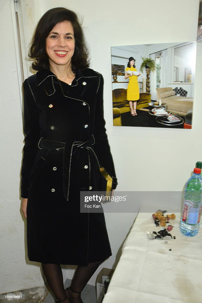 Vanessa Seward attends 'Les Parisiennes' - Photo Exhibition Preview at Galerie Clementine De La Feronniere on November 8, 2012 in Paris, France.