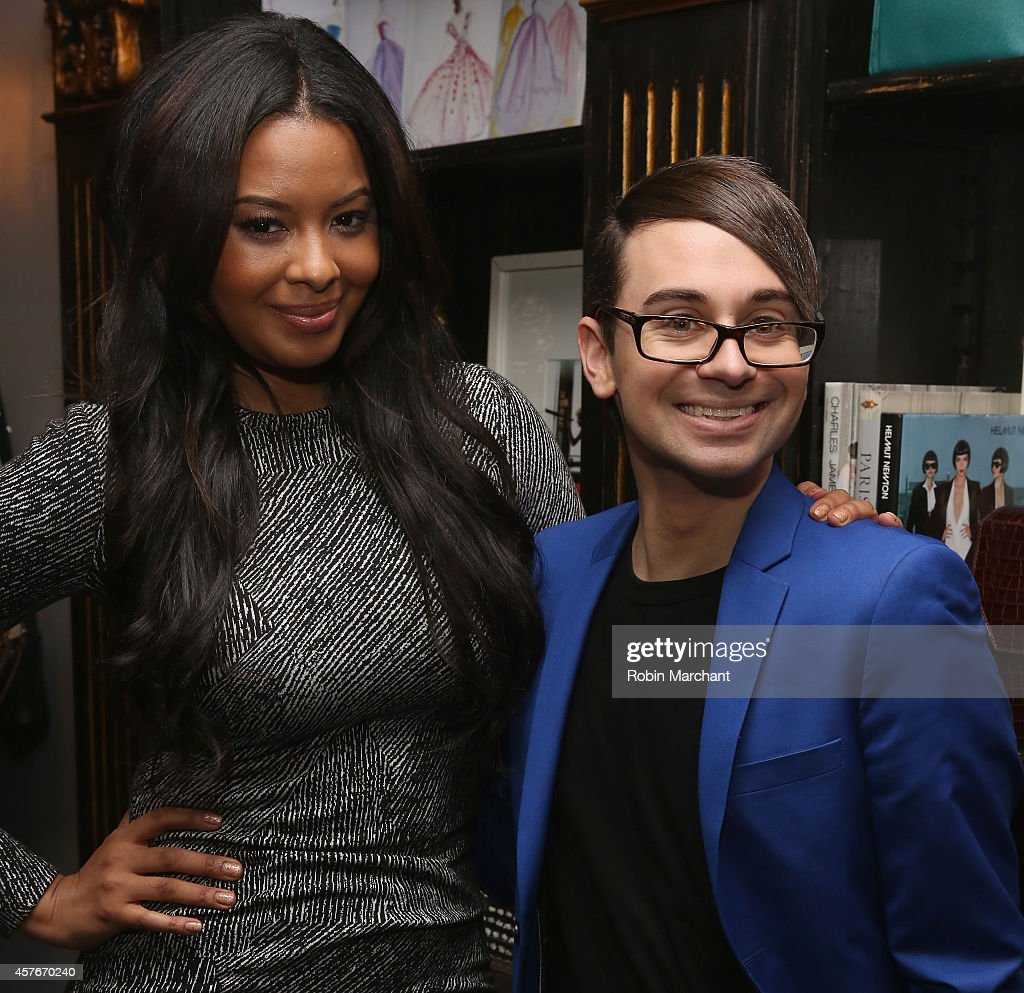 Vanessa Simmons and Christian Siriano celebrate the premiere of Lifetime's All New Fashion Series 'Project Runway THREADS' at Christian Siriano...