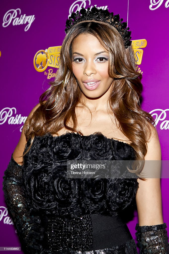 Vanessa Simmons arrives to the Pastry Barbie So In Style Shoe Collection Launch Party at SLS Hotel in Los Angeles California on May 19 2011