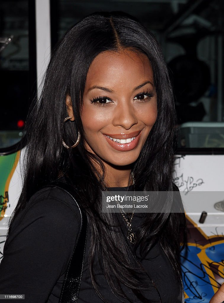 Vanessa Simmons attend Pastry 'Turnover' Shoes by Angela and Vanessa Simmons from MTV's Run's House and Daddy's Girls Launch Event at Sportie LA on...