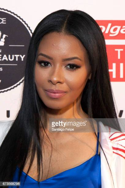 Vanessa Simmons attends The 2017 ESSENCE Best in Black Beauty Awards at Sugar Factory NYC on April 26 2017 in New York City