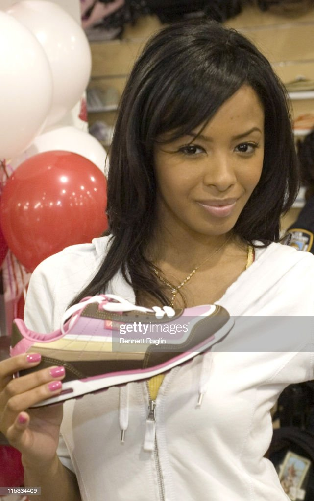 Vanessa Simmons during New York Launch of Vanessa and Angela's New Sneaker 'Pastry' May 1 2007 at Brooklyn USA Ladies Store in Brooklyn New York...