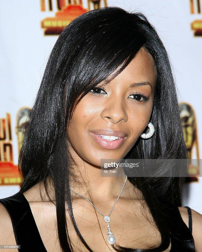 Vanessa Simmons presenter during 21st Annual Soul Train Music Awards Press Room at Pasadena Civic Auditorium in Pasadena California United States