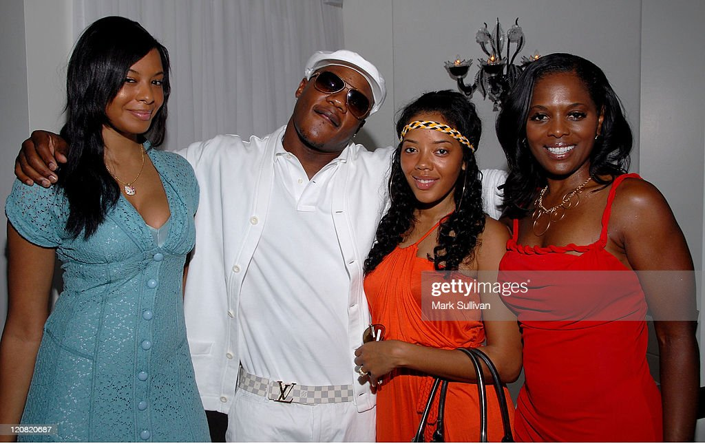 Vanessa Simmons producer Sean Garrett Angela Simmons and Catherine Brewton VP writer/publishers relations BMI attend the BMI Brunch at Murano on June...