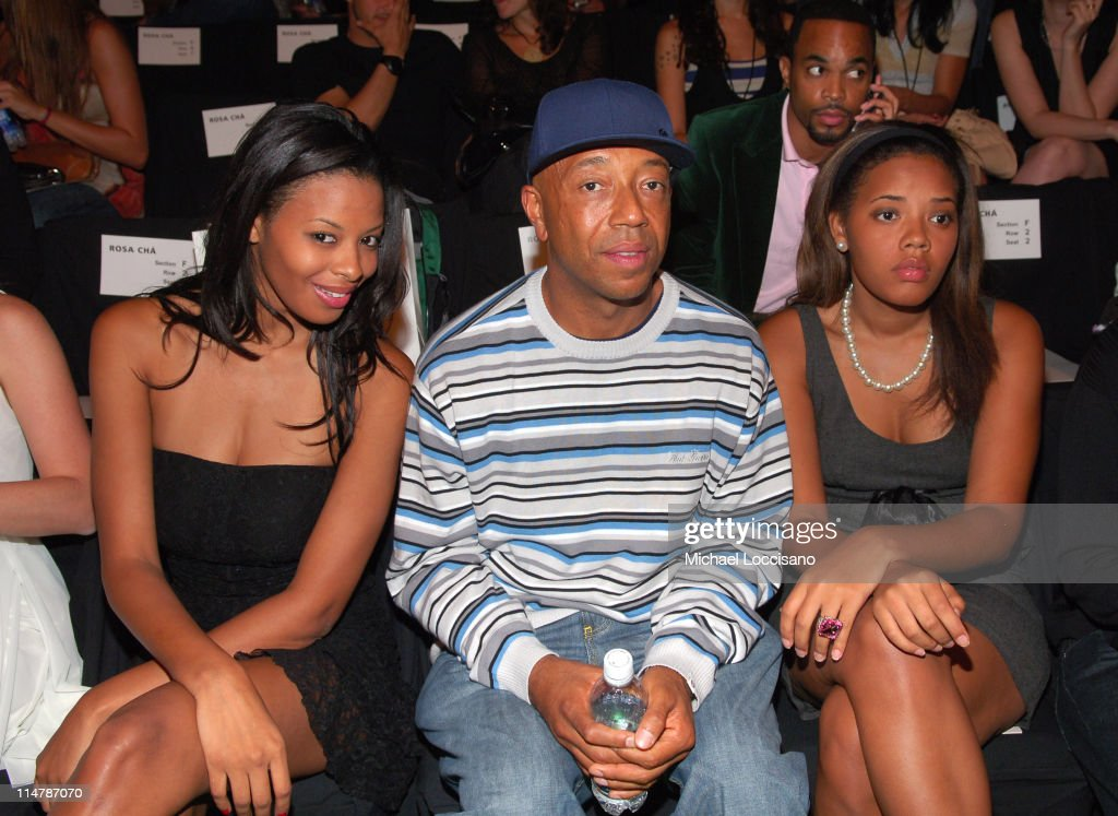 Vanessa Simmons Russell Simmons and Angela Simmons