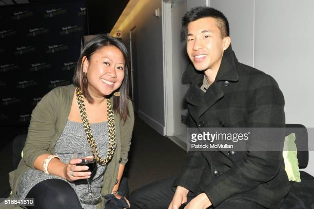 Vanessa Tiongson and Kelvin Chao attend TIME INC Live and Unfiltered Presents ROUGH JUSTICE Hosted by FORTUNE at Time and Life Building Screening...