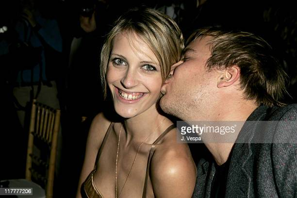 Vanessa Traina and Chad Muska during Barneys New York and HewlettPackard Host Proenza Schouler Fashion Show to Benefit the Rape Foundation...
