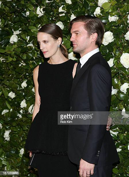 Vanessa Traina and Max Snow attend the Museum of Modern Art 2013 Film benefit A Tribute To Tilda Swinton on November 5 2013 in New York City