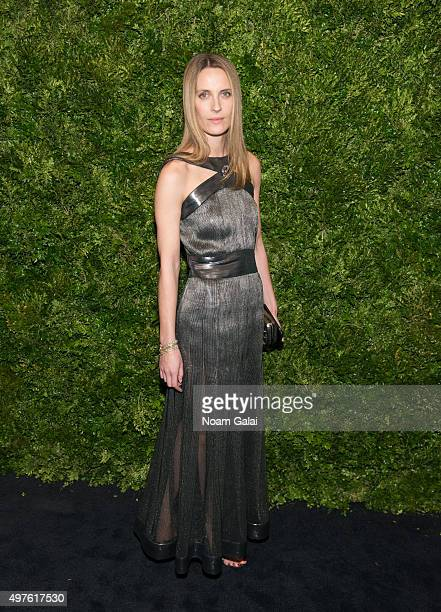 Vanessa Traina attends the 8th Annual Museum Of Modern Art Film Benefit honoring Cate Blanchett at Museum of Modern Art on November 17 2015 in New...