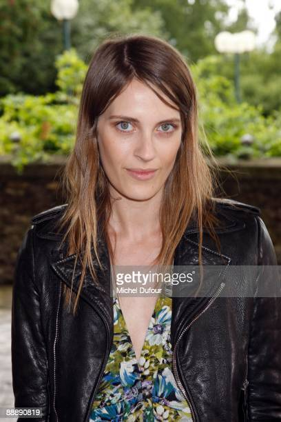 Vanessa Traina attends the Givenchy Haute Couture A/W 2010 Fashion show at Parc Georges Brassens on July 7 2009 in Paris France