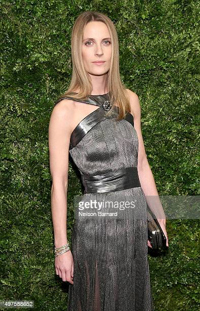 Vanessa Traina attends the Museum of Modern Art's 8th Annual Film Benefit Honoring Cate Blanchett at the Museum of Modern Art on November 17 2015 in...