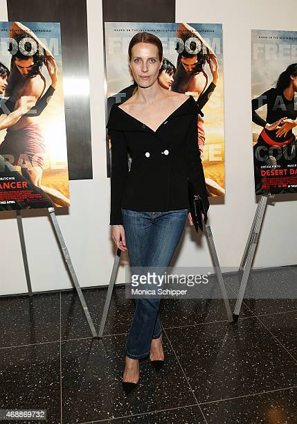 Vanessa Traina attends the Special Screening Of Relativity Studio's 'Desert Dancer' at Museum of Modern Art on April 7 2015 in New York City
