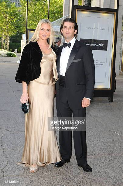 Vanessa Trump and Donald Trump Jr at the American Ballet Theatre's Opening Night Spring Gala on May 19 2008 at the Metropolitan Opera House in New...