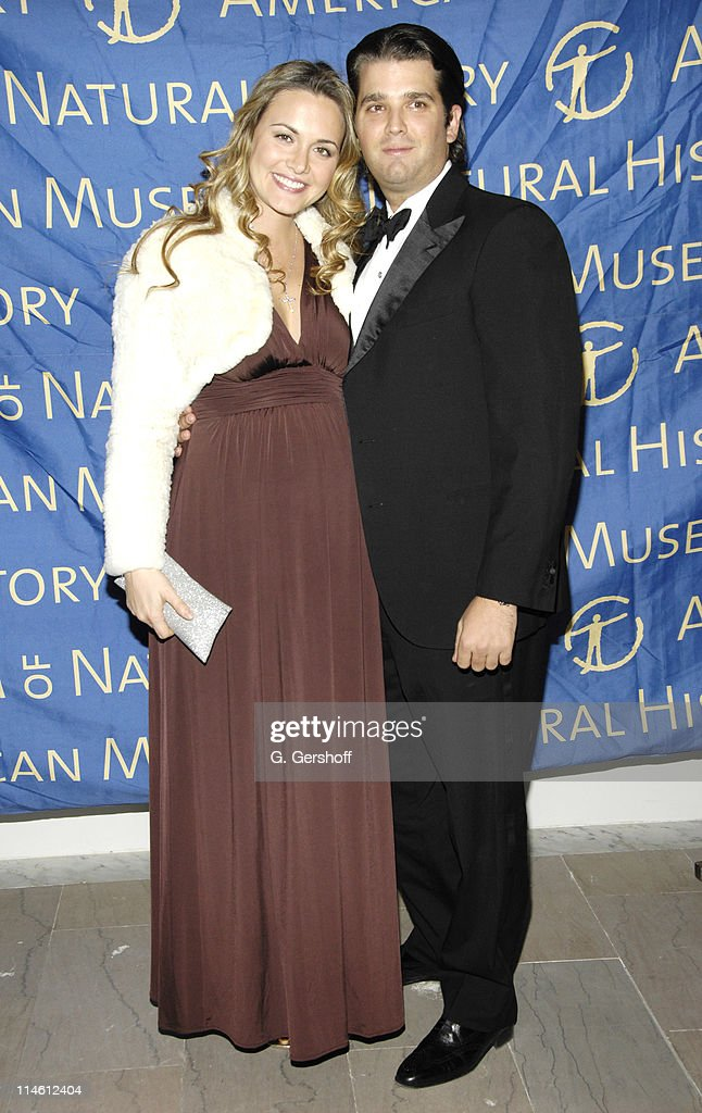 Vanessa Trump and Donald Trump Junior during American Museum of Natural History Holds its Annual Winter Dance Arrivals in New York City New York...