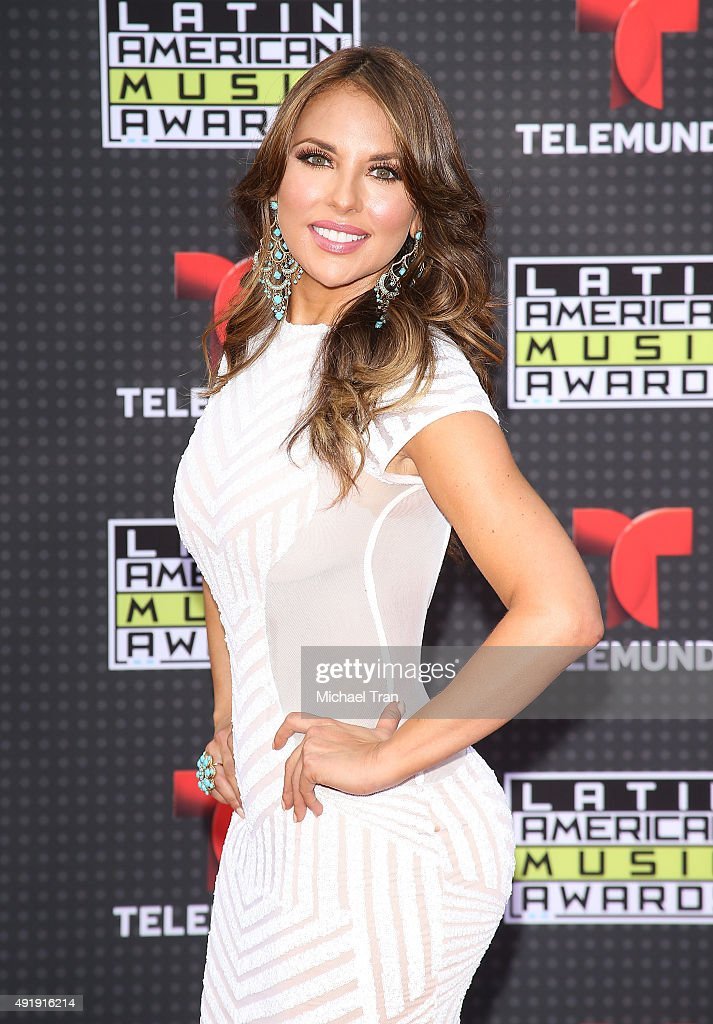 Vanessa Villela arrives at the Latin American Music Awards 2015 held at Dolby Theatre on October 8 2015 in Hollywood California