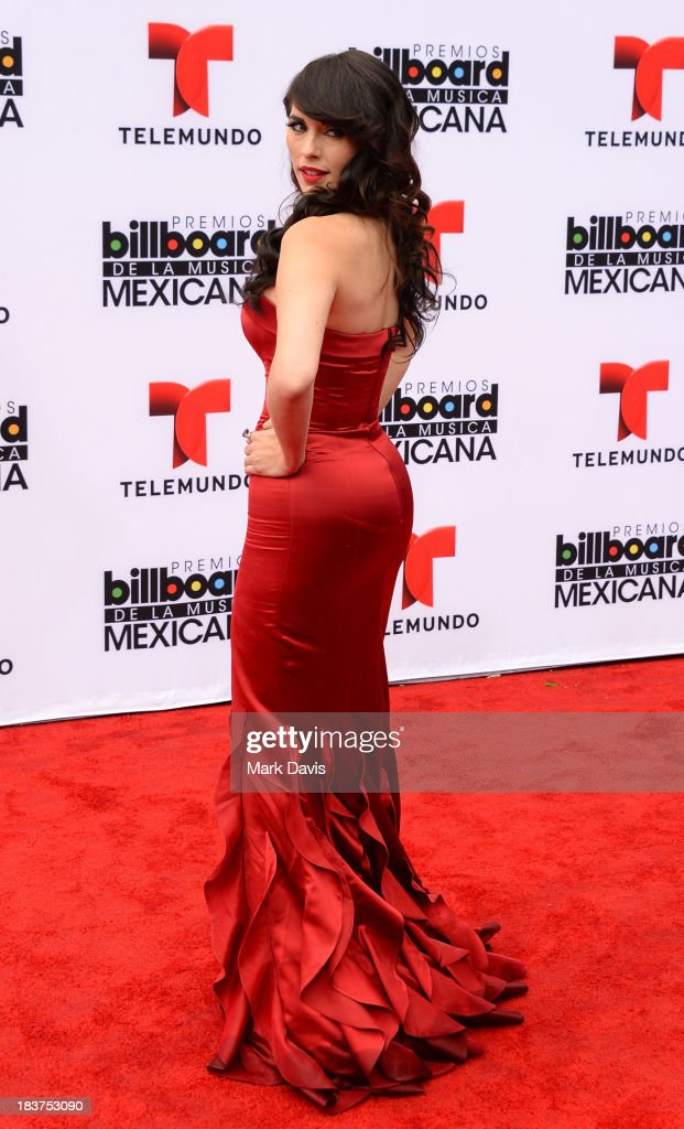 Vanessa Villela attends the 2013 Billboard Mexican Music Awards held at the Dolby Theatre on October 9 2013 in Hollywood California
