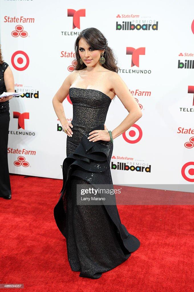 Vanessa Villela attends the 2014 Billboard Latin Music Awards at Bank United Center on April 24 2014 in Miami Florida