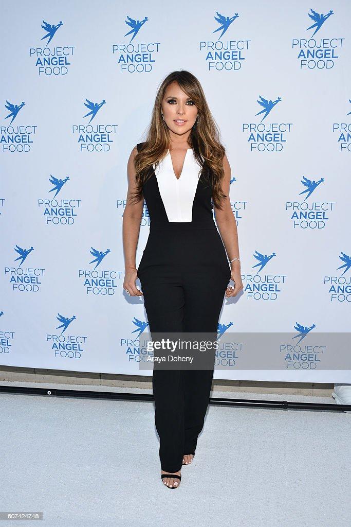 Vanessa Villela attends the Project Angel Food's Angel Awards 2016 Honoring Lisa Rinna, Mitch O'Farrell & Joseph Mannis, ESQ on September 17, 2016 in Los Angeles, California.