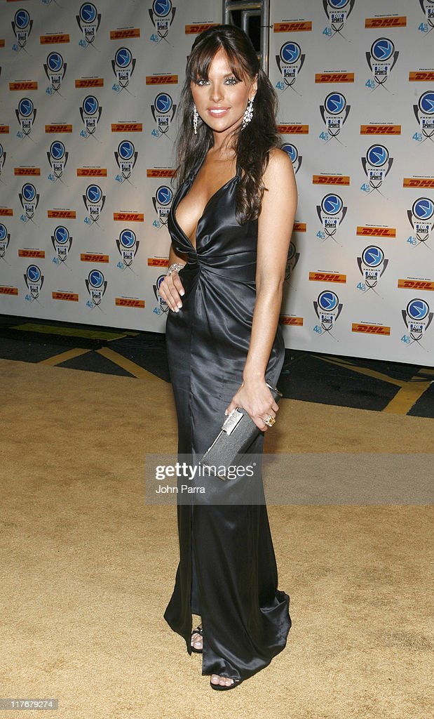 Vanessa Villela during 4th Annual Premios Fox Sports Awards Arrivals at Jackie Gleason Theater for the Performing Arts in South Beach Florida United...