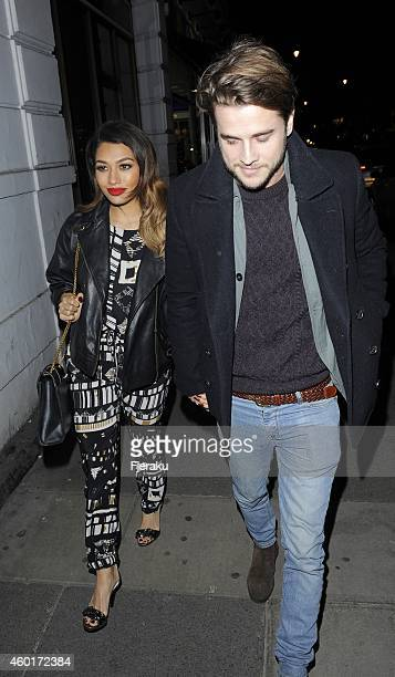 Vanessa White attending Metro's Guilty Pleasures Christmas Party as free daily paper's showbiz column marks the festive season and announces the...