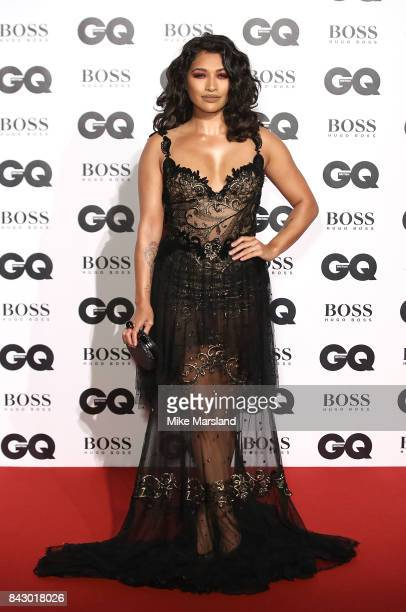 Vanessa White attends the GQ Men Of The Year Awards at Tate Modern on September 5 2017 in London England