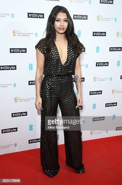 Vanessa White attends the InStyle EE Rising Star Party at the Ivy Soho Brasserie on February 1 2017 in London England