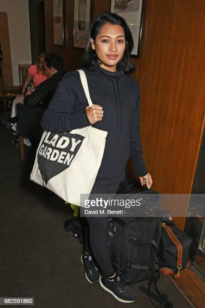 Vanessa White attends the Lady Garden brunch following the 5K 10K Fun Run in aid of Silent No More Gynaecological Cancer Fund at Bluebird on May 13...