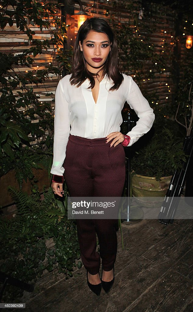 Vanessa White attends the Peter Saville for Lacoste launch at Shoreditch House on November 28, 2013 in London, England.