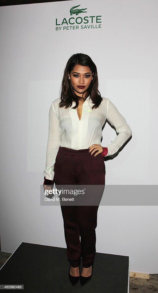 <a gi-track='captionPersonalityLinkClicked' href=/galleries/search?phrase=Vanessa+White&family=editorial&specificpeople=5523036 ng-click='$event.stopPropagation()'>Vanessa White</a> attends the Peter Saville for Lacoste launch at Shoreditch House on November 28, 2013 in London, England.