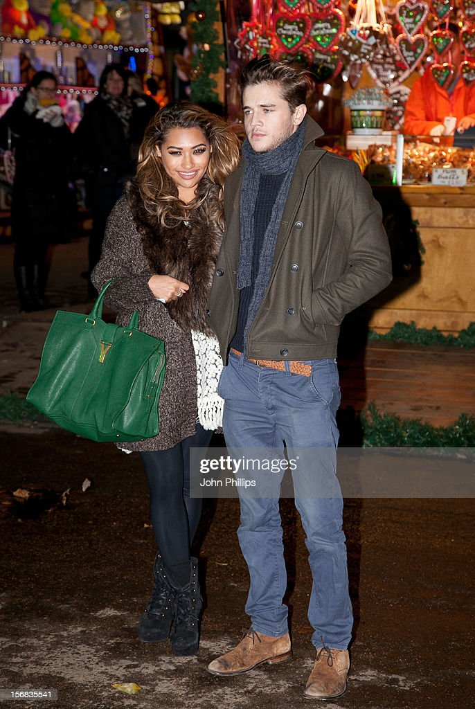 Vanessa White attends the Winter Wonderland launch party at Hyde Park on November 22, 2012 in London, England.