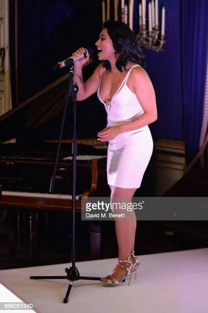 Vanessa White performs at the Global Gift Gala for The Diana Award hosted by Earl Spencer at Althorp House on June 14 2017 in Northampton England