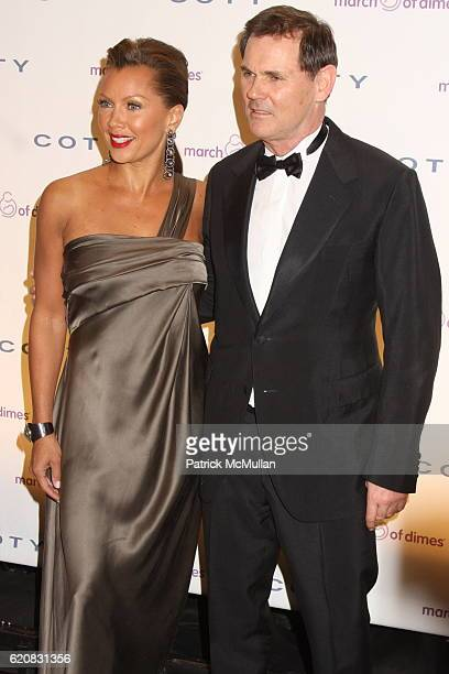 Vanessa Williams and Bernd Beetz attend March of Dimes 33rd Annual Beauty Ball at Cipriani 42nd Street on March 12 2008 in New York City