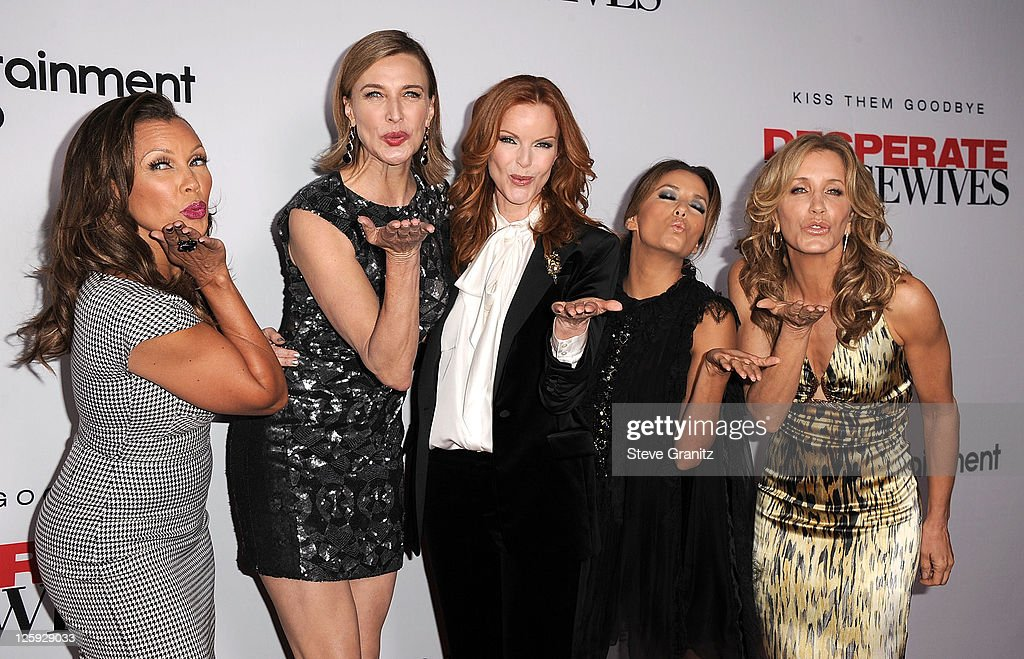 Vanessa Williams and Brenda Strong and Marcia Cross and Eva Longoria and Felicity Huffman attends Disney ABC Television Group Hosts 'Desperate...