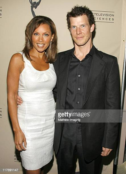 Vanessa Williams and Eric Mabius during The Academy of Television Arts Sciences Presents An Evening with 'Ugly Betty' Arrivals at Leonard H Goldenson...