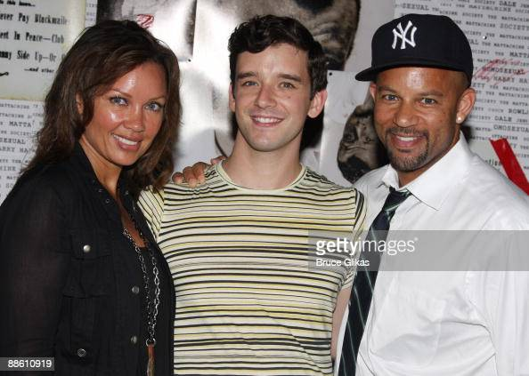 Vanessa Williams and her brother Chris Williams visit ... Vanessa Williams Brother