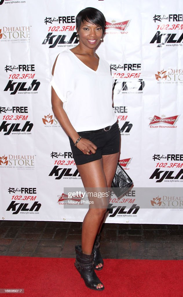 Vanessa Williams arrives at Icon Stevie Wonder's 63rd Birthday Celebration at House of Music & Entertainment on May 11, 2013 in Beverly Hills, California.