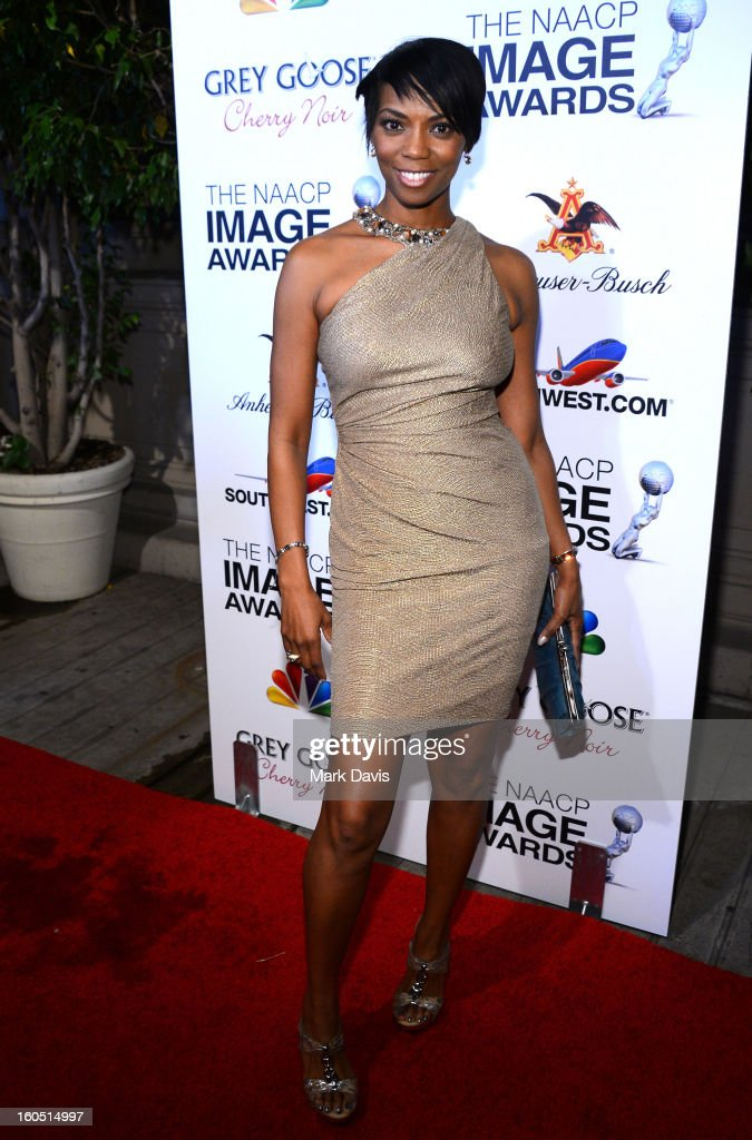 Vanessa Williams arrives at the 44th NAACP Image Awards after party held at the Millennium Biltmore Hotel on February 1, 2013 in Los Angeles, California.