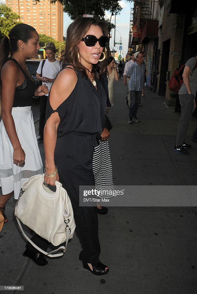 Vanessa Williams as seen on July 15, 2013 in New York City.
