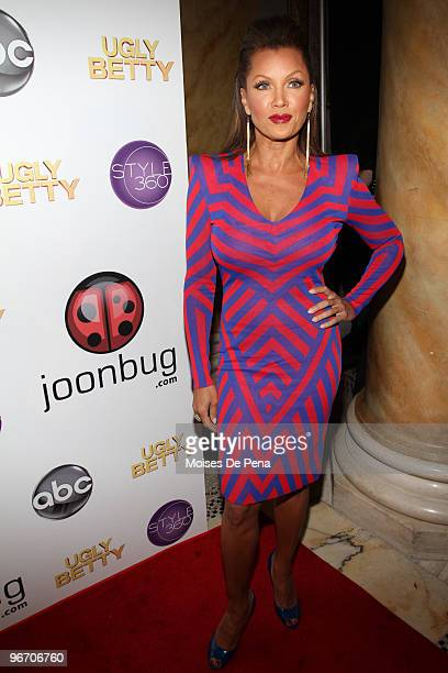 Vanessa Williams attends a farewell to ABC's ''Ugly Betty'' at Capitale on February 13 2010 in New York City