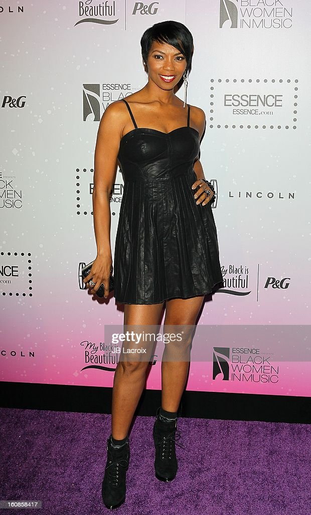 Vanessa Williams attends the 4th Annual Essence Black Women In Music Event at Greystone Manor Supperclub on February 6, 2013 in West Hollywood, California.