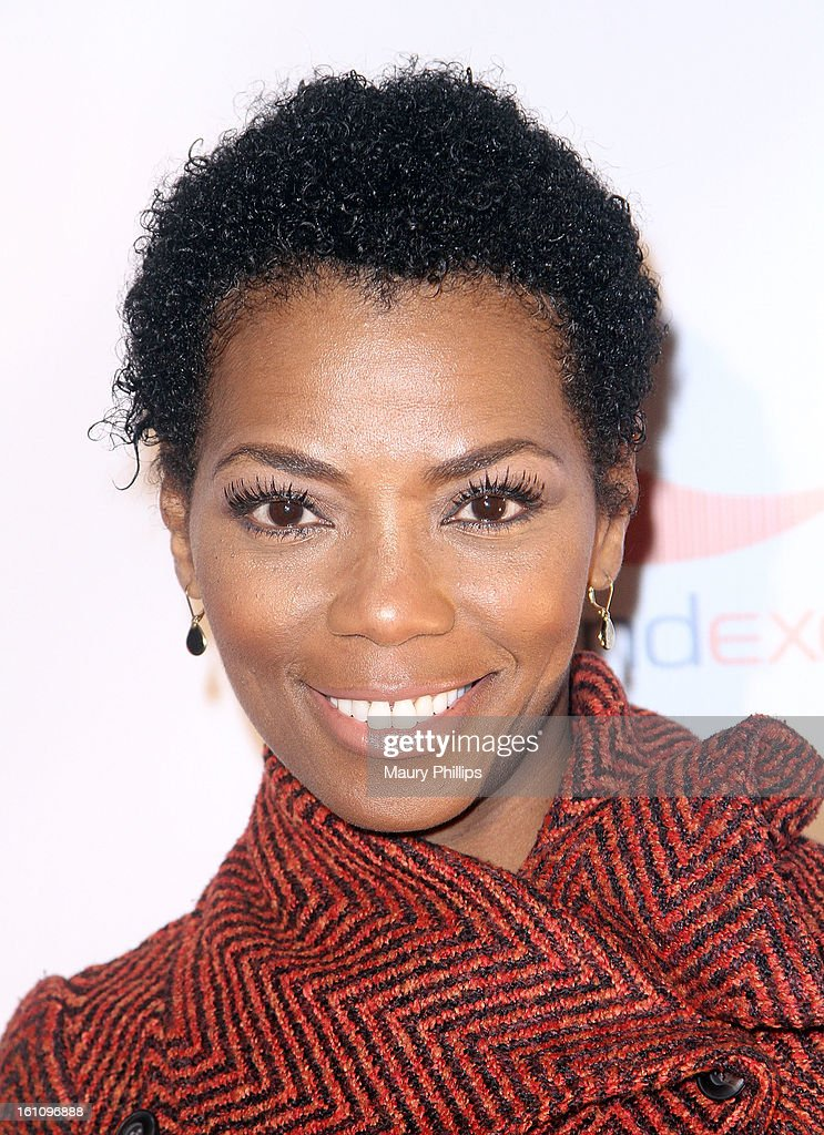 Vanessa Williams attends The 6th Annual Kiss-N-Grind GRAMMY Edition hosted by Common with Vikter Duplaix and music producer The Twilite Tone at Arena Nightclub on February 8, 2013 in Hollywood, California.