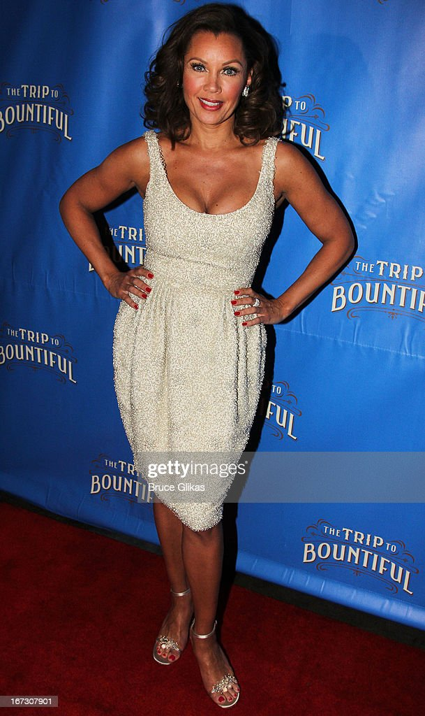 Vanessa Williams attends the after party for the Broadway opening night of 'The Trip To Bountiful' at The Copacabana on April 23, 2013 in New York City.
